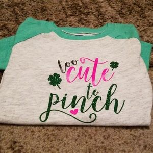 Custom made St. Patrick's Day shirt